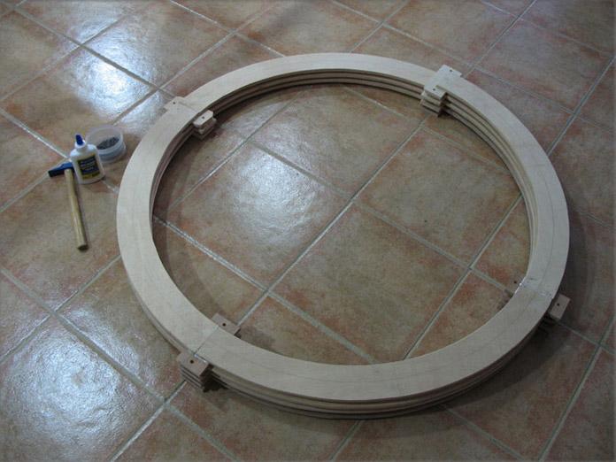 Construcción de una rampa helicoidal