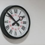 El reloj de mi estación