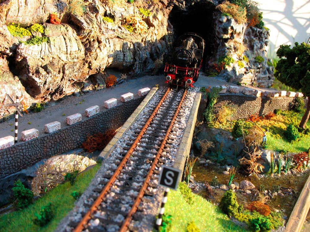 Diorama modelismo ferroviario