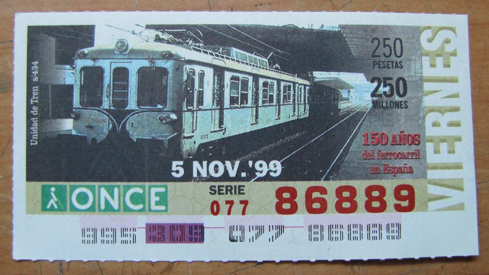 Unidad de tren s/434