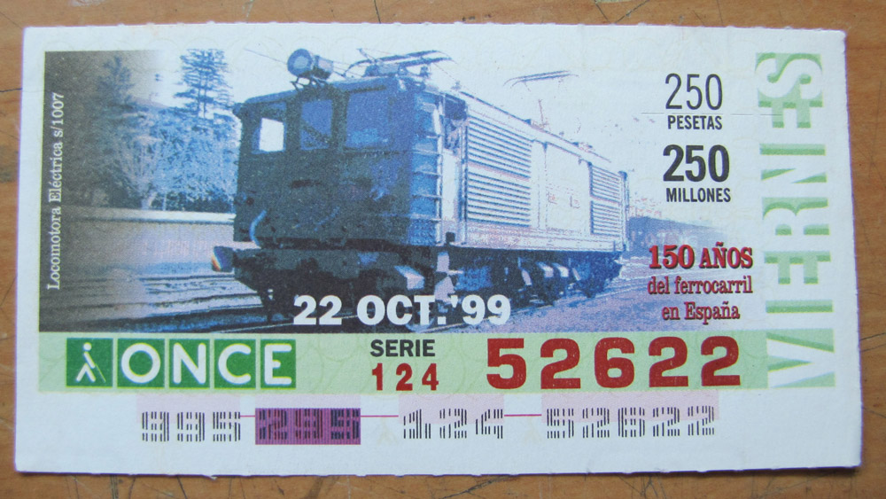 Locomotora eléctrica s/1007