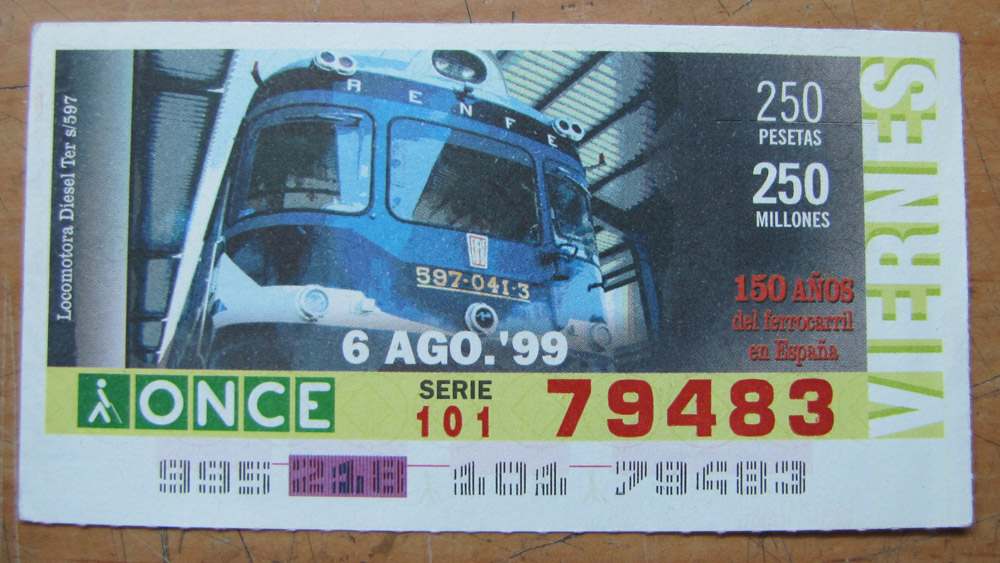 Locomotora diesel TER s/597