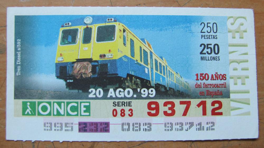 Tren diesel s/592