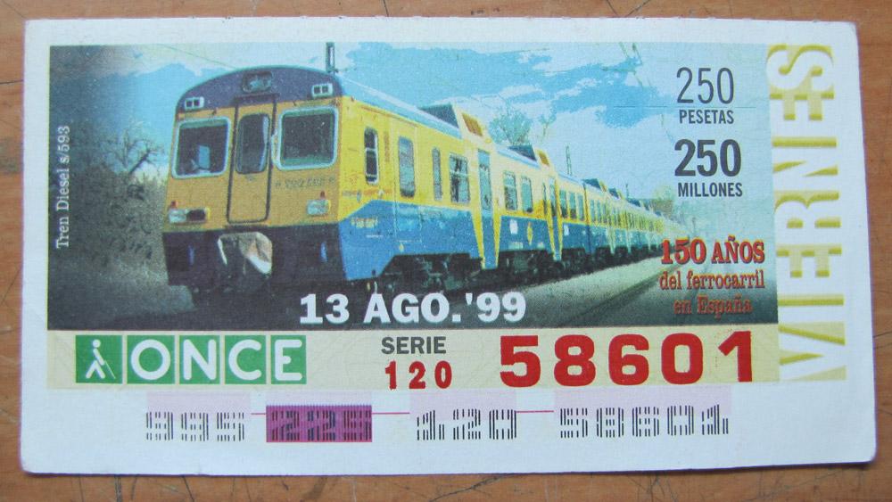 Tren diesel s/593