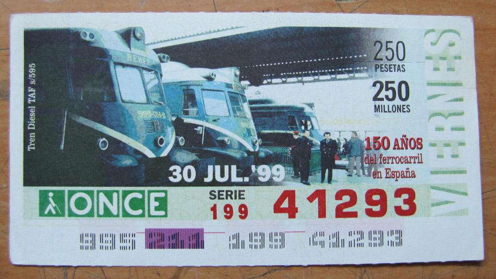 Tren diesel TAF s/595