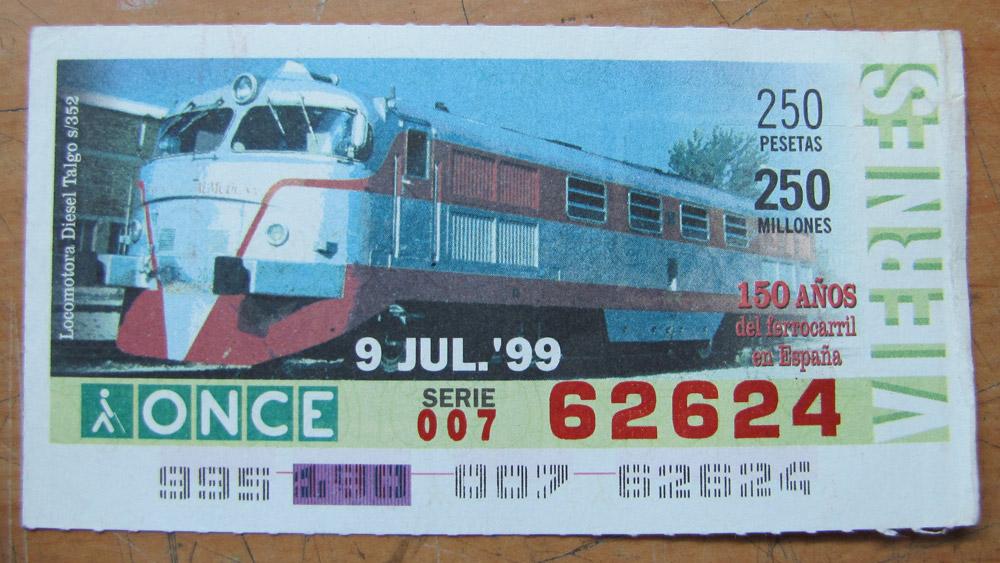 Locomotora diesel Talgo s/352
