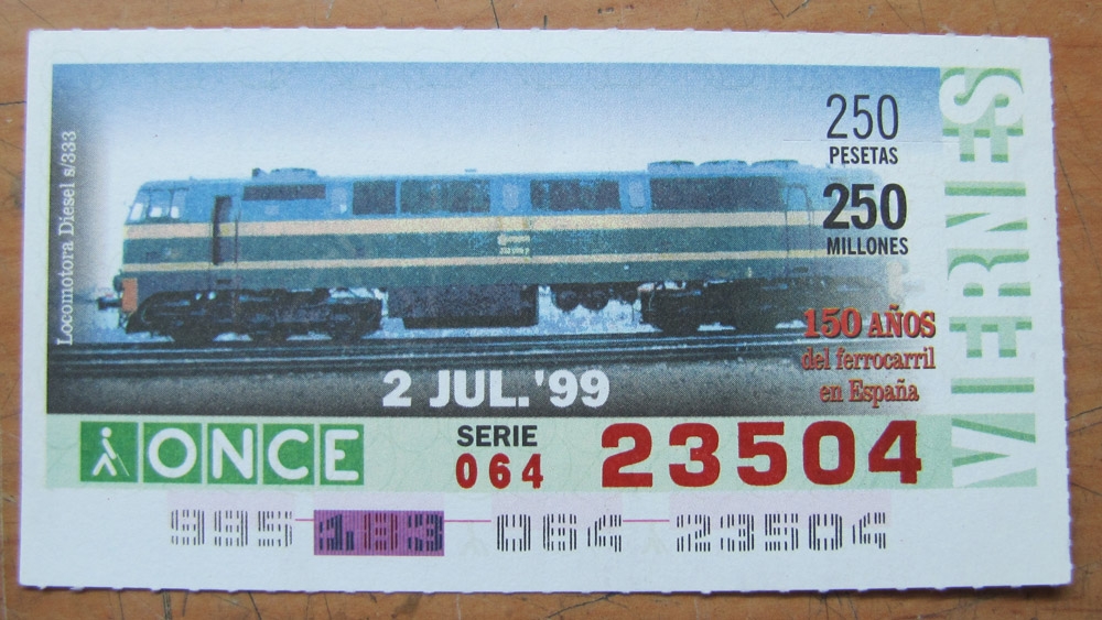 Locomotora diesel s/333