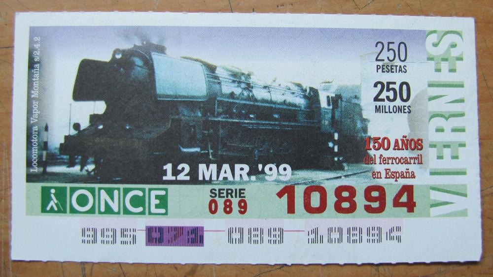 Locomotora vapor Montaña s/242