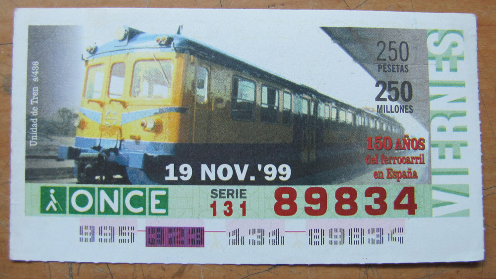 Unidad de tren s/436