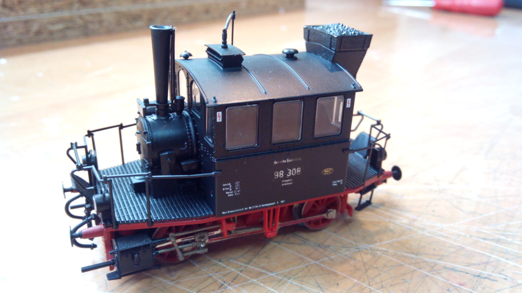 Locomotora de vapor Glaskasten