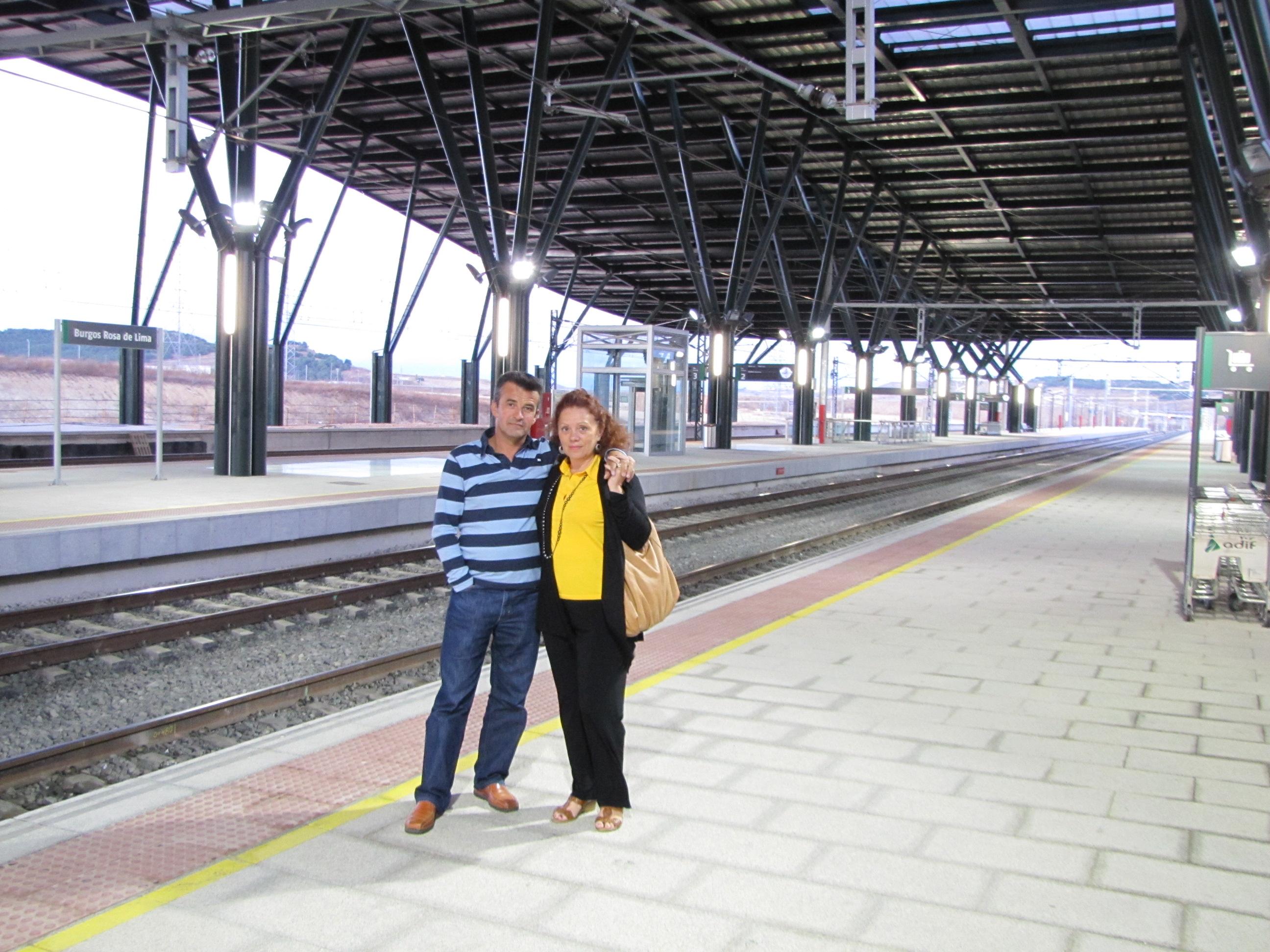 Nueva Estación del Ave - Burgos Rosa de Lima