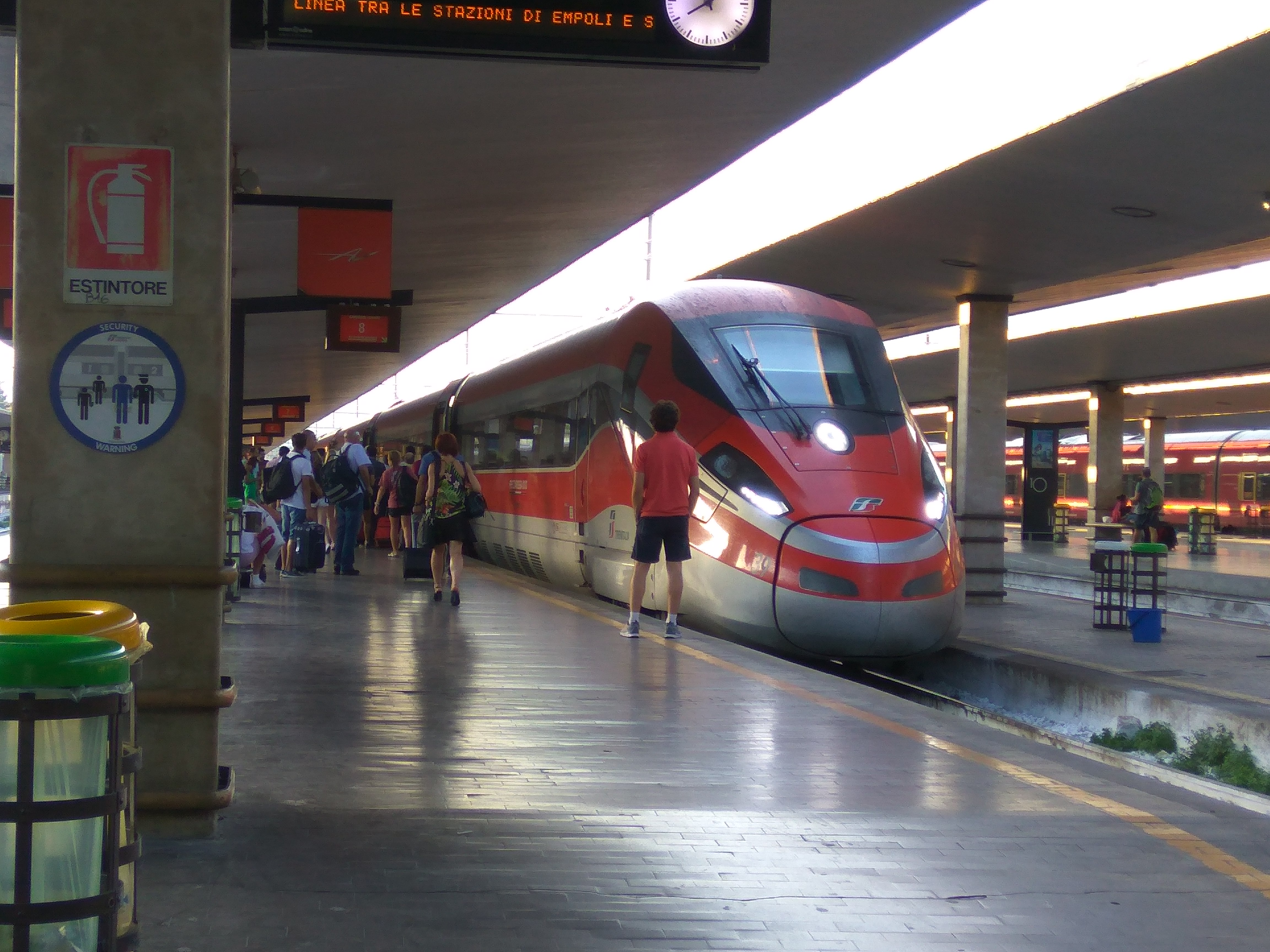Estación de Florencia - Italia